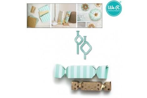 Įrankis dovanų dėžutės gamybai saldainio forma