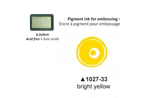 Pigmentinis rašalas embosingo technikai