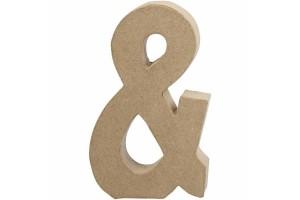 """Pastatoma raidė """"and"""" ženkliukas 20,5 cm."""