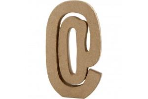 """Pastatoma raidė """"eta"""" ženkliukas 20,5 cm."""