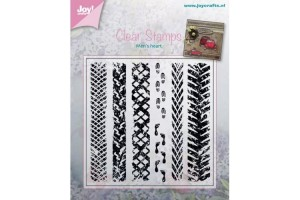 Craft clear stamps 100x100 mm.