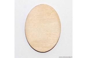 Pagrindas sagei ovalus 4x3 cm. P2-57