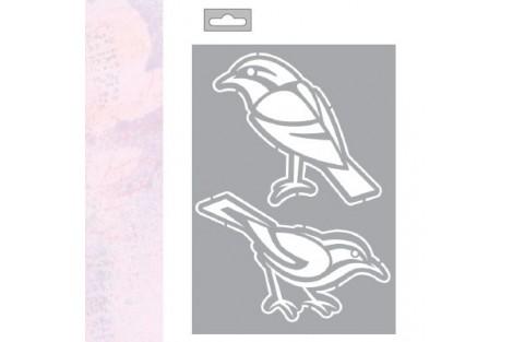 Trafaretas paukštis A5