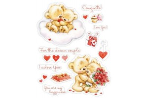 Craft clear stamps  14x18 cm.