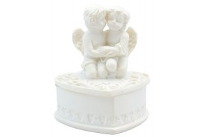 Dekoracija angelas dėžutė
