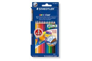 Aquarell pencils set 12 pcs. and brush