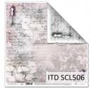 Scrapbooking paper 31,5x32,5 cm. SCL501