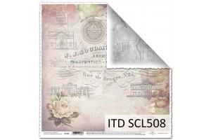 Popierius skrebinimui 31,5x32,5 cm. SCL508