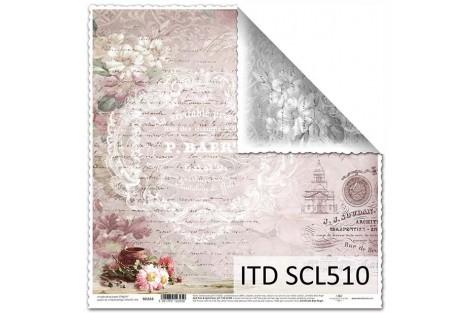 Scrapbooking paper 31,5x32,5 cm. SCL509