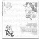 Popierius skrebinimui 31,5x32,5 cm. SCL522