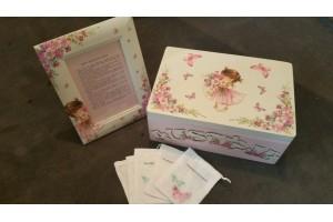 Memory box and set 35x24x15 cm.