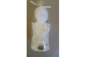 Candle angel 15x8 cm.