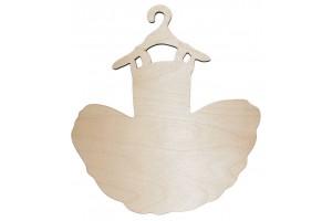 Medinė pakaba vaikiška Suknelė