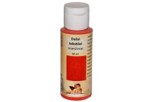 Paint for textile 60 ml. (orange)
