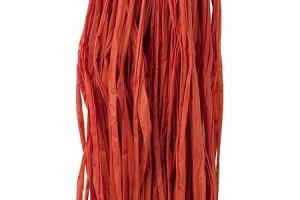 Rafija juostelė raudonos spalvos 25 gr.