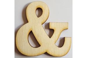 Medinė dekoracija Simbolis & 5 cm. Gift89