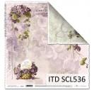 Scrapbooking paper 31,5x32,5 cm. SCL536