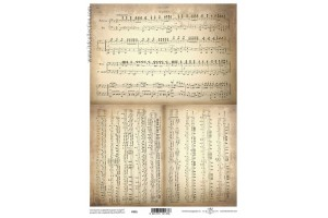 Translucent scrapbooking paper A4 112 g. P001