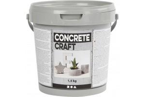 Dekoratyvinis rankdarbių cementas 1,5 kg.