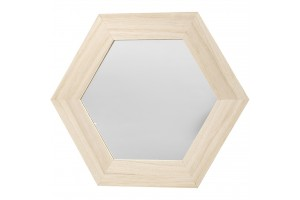 Frame mirror size 26x26 cm, carving: 18x18 cm