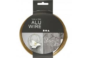 Aliuminio viela dekoravimui 1 mmx16 m.