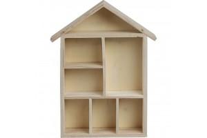 House shaped  30x22x4,5 cm.