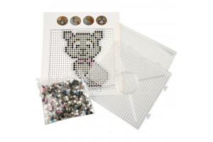 Fuse beads starter kit cat