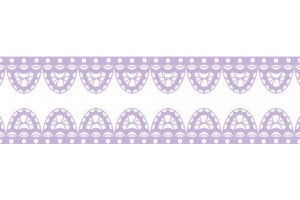 Washi tape sea print 15mmx8m.