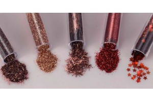 Glitter assorted 5 pcs.