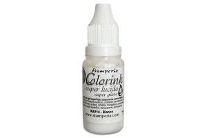 Color ink white 14 ml.