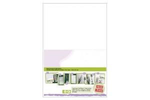 Popierius skrebinimui lipdukas kirtimo formoms 5 vnt.  A4