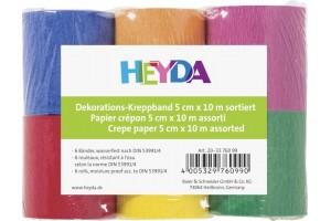 Crepe paper set