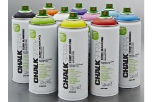 Chalk spray paint white 400 ml.