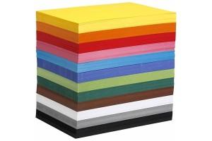 Spalvotas kartonas A4 spalva pasirenkama A4 210x297 mm, 180 g