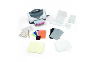 Sizzix Texture Boutique starter kit White & Grey