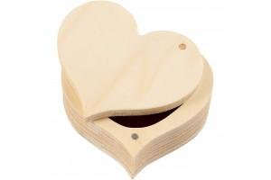 Wooden box 9x4 cm.