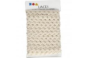 White lace 19 mmx1 m.