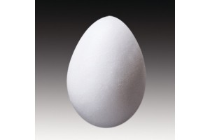 Putų polisterolo kiaušinis 10 cm.
