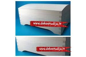 Wooden chest  30x19,5x13,5 cm.