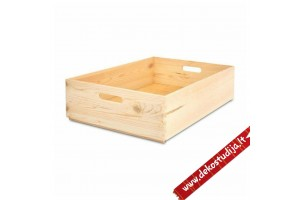 Wooden box  60x40x15 cm.