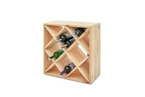 A box for wine 52x25x52 cm.