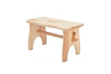 Medinė vaikiška kėdutė 38x19x21 cm.