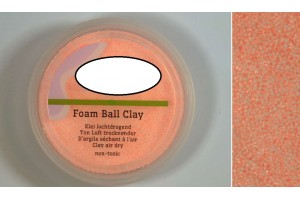 Foam clay orange color 15 gr.