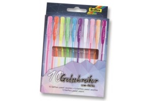 Gel-pens 10 pcs., set