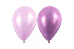 Balionai šviesiai violetiniai 23 cm. 10 vnt.
