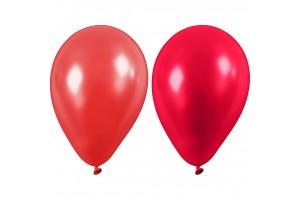 Balionai raudoni  23 cm. 10 vnt.