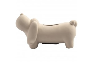 Dog money box 6,5x13,5 cm.