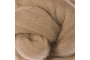 Merino vilnos sluoksna nėrimui 1 kg. žemės spalva
