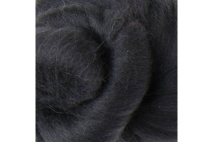 Merino wool 16 microns, black