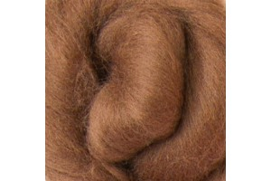 Merino wool 16 microns, brown